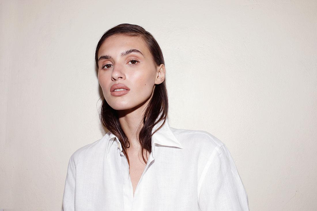 Luna Cordero modelo fotografiada por Martin Traynor